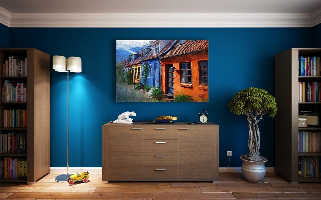 A Painter can help you choose the right Hue of Blue!