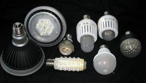 LED lights several kinds of bulbs
