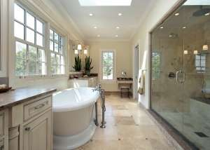 bathroom renovations lighting