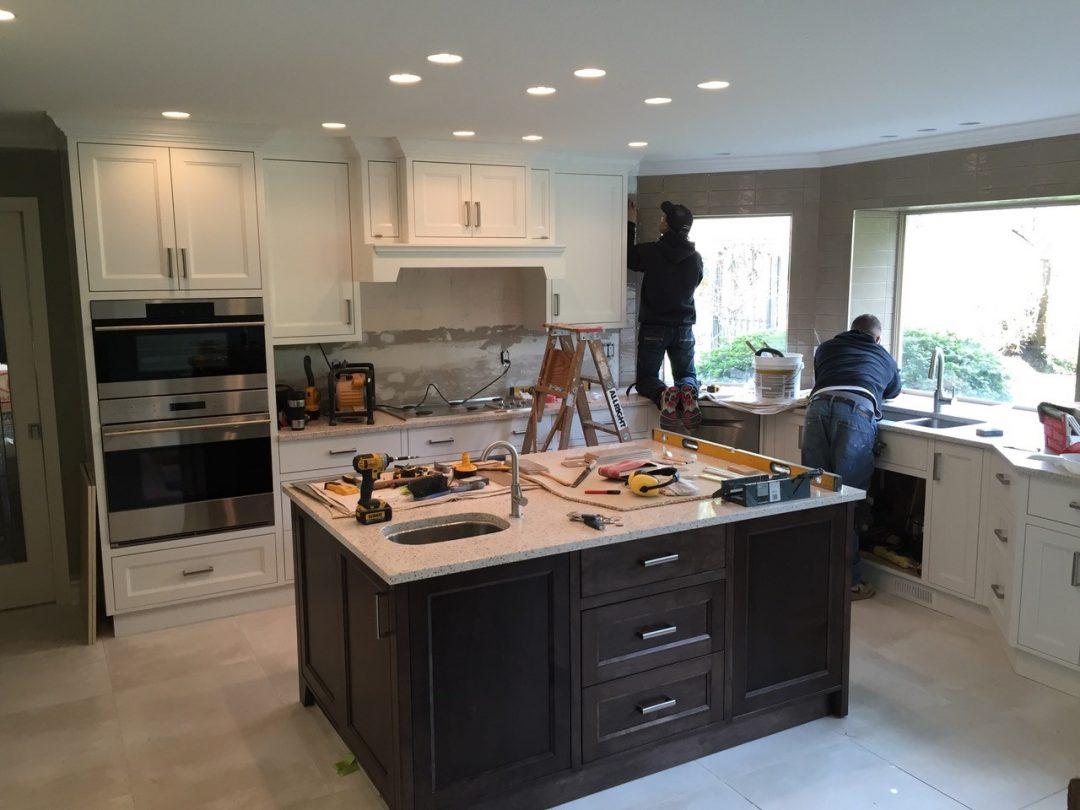 Kitchen renovation custom wokmanship