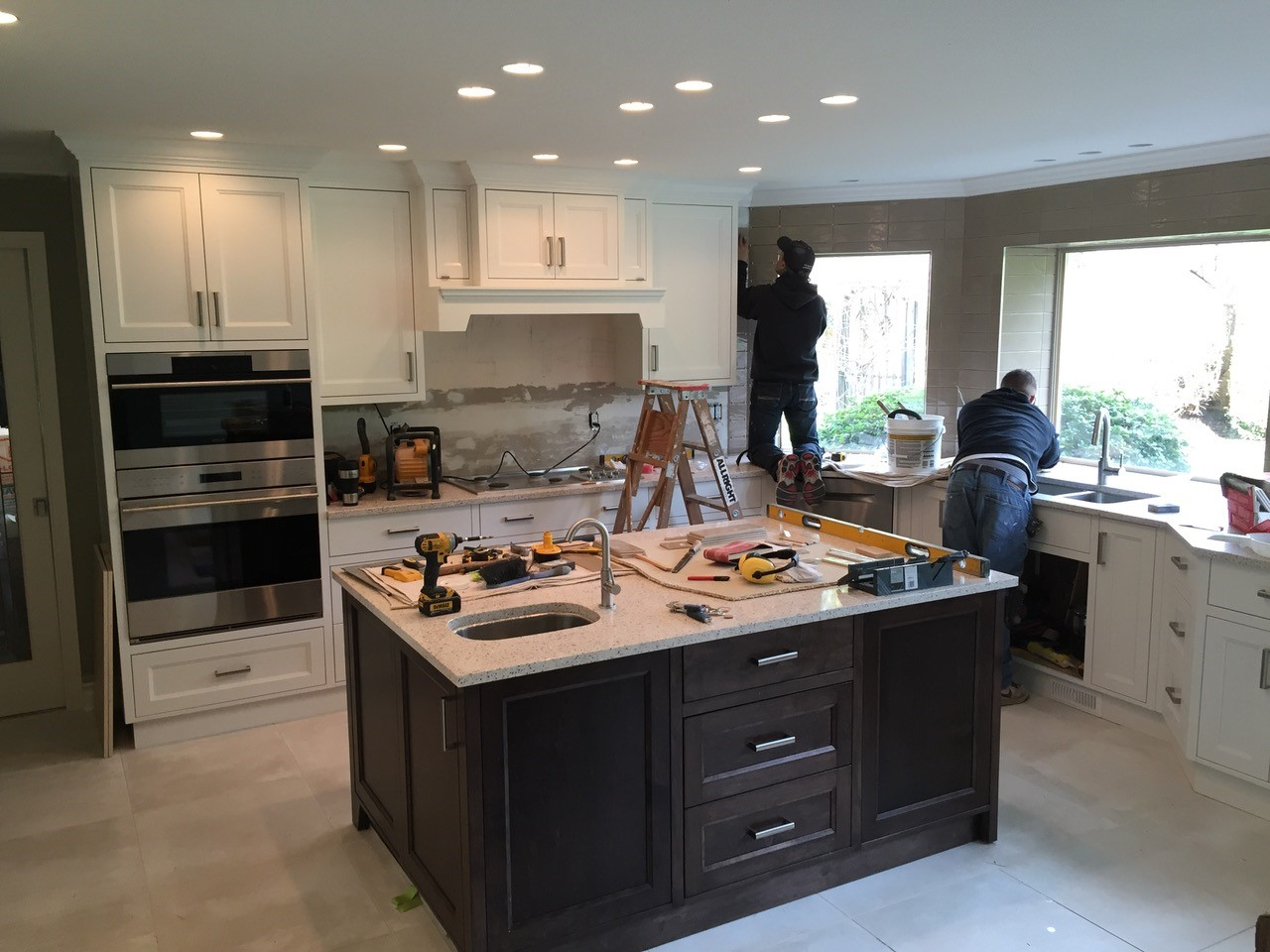 Custom Kitchen Workmanship Surrey Mc Paint Reno