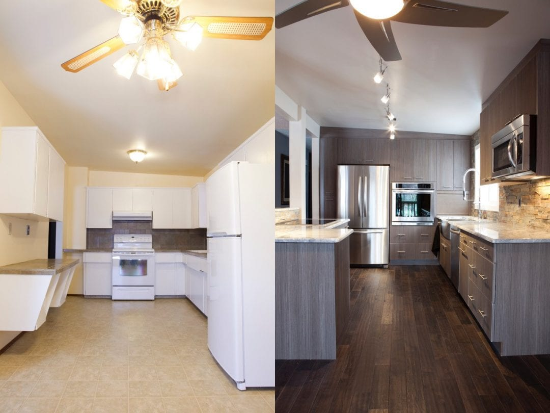 ᐅ Kitchen Remodel Before - After, Surrey - MC Paint & Reno