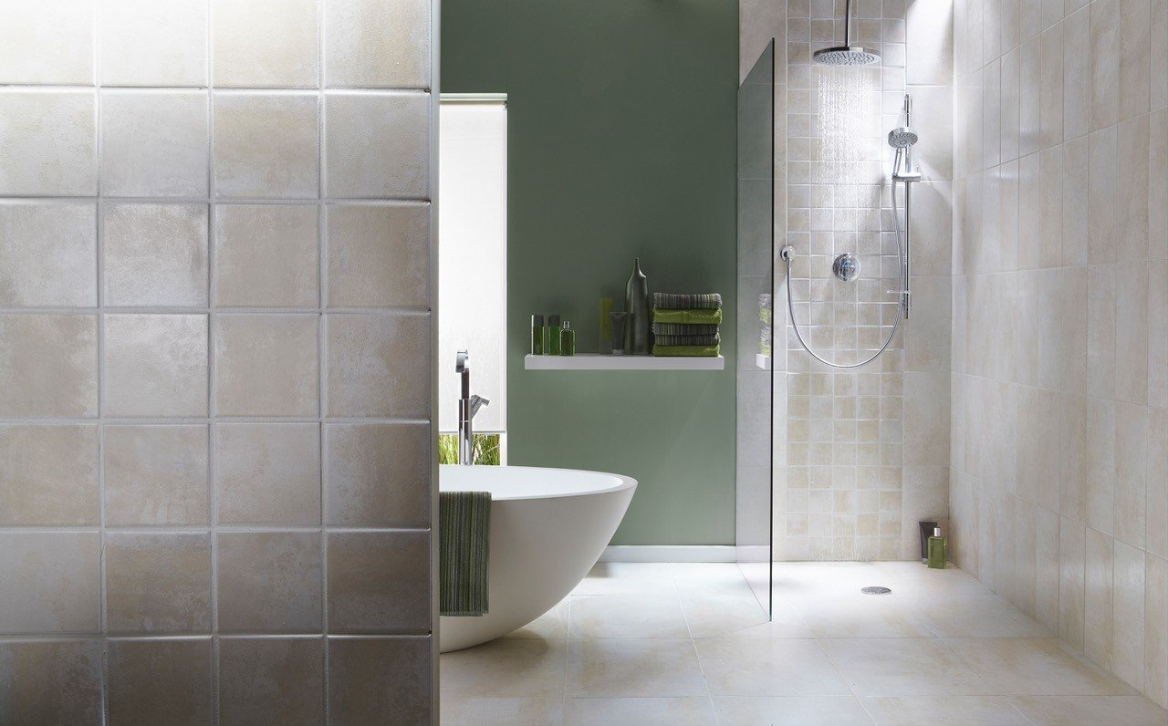 Bathroom Renovations , modern Designs, open shower, and ceramic tile in South Surrey