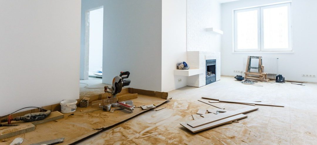Interior Re-Model of an house in South Surry by M.C. ainting & Renovation.