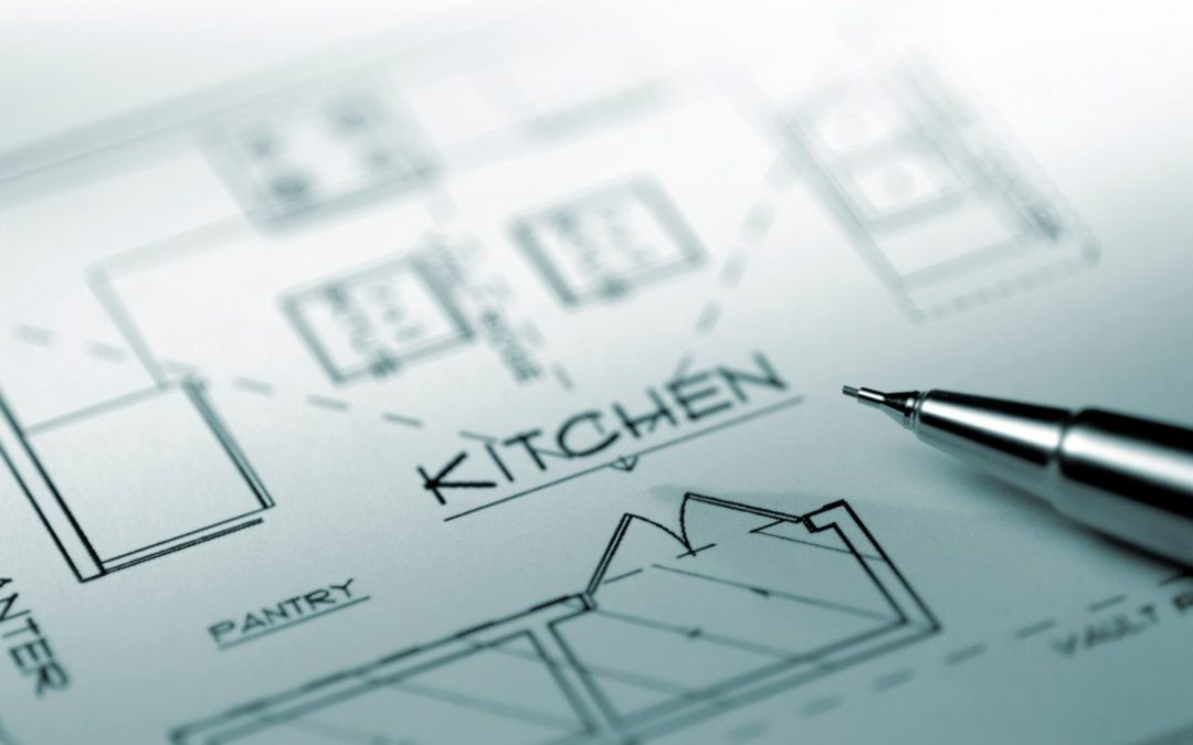 Planning your dream kitchen layout.