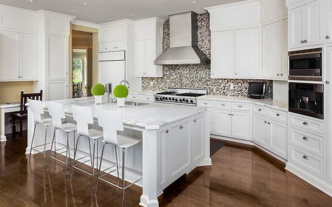 A transitional kitchen design approach to remodeling is loved by many homeowners.